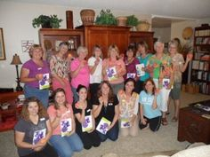 This group of smiling ladies is from California and they just completed The Organic God six week Bible study. The peaches in their hands are organic, purchased through a co-op. Jane, who sent in this lovely photo, originally bought them believing she would make them into a pie. After reading the Leader's Guide, she realized God had a better plan. She passed them out to the group members to remind them of what they discussed during their very first meeting together.  Yum!