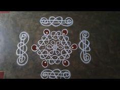 Rangoli Side Designs, Easy Rangoli Designs Diwali, Rangoli Designs Latest, Simple Rangoli Designs Images, Rangoli Borders, Free Hand Rangoli Design, Small Rangoli Design, Rangoli Designs With Dots, Beautiful Rangoli Designs