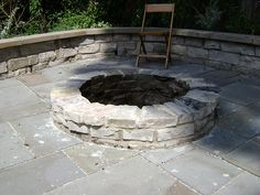 Pond and Fire Features in Landscape Design Chicago | digrightin