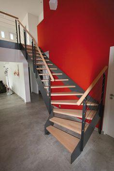 59 meilleures images du tableau Escaliers métal   Modern stairs ...