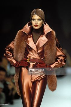 Jean Louis Scherrer couture Fall 1996 Paris