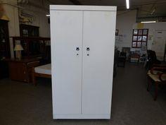 Wardrobe with lock, measurements are H-173cm W-92cm D-51cm ---------------- £45 (pc488)