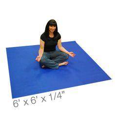 Yoga Direct™ Maendy Mat - 6 Foot Square Yoga Mat