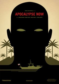 Apocalypse Now. Classic Film Posters by Marcus Reed. only for the mad minds