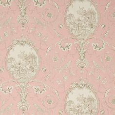 """Elegante' - the beauty of lemons London brittanymahood """"The appearance of things changes according to the emotions; and thus we see magic and beauty in them, while t Pierre Frey, Pink And Gold, Blush Pink, French Nursery, French Country House, Fabric Wallpaper, Make Design, French Vintage, Favorite Color"""