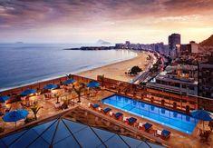 Esta es la vista que podrás disfrutar cuando estás en la piscina del JW Marriott Hotel Rio de Janeiro en Brasil. #Brazil