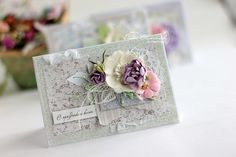 Elena Olinevich: Many spring Cards for Maja Design