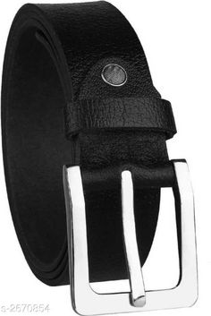 Belts Stylish Men's Belt Material: Genuine Leather Size: Free Size Description: It Has 1 Piece Of  Men's Belt Pattern: Solid Country of Origin: India Sizes Available: Free Size   Catalog Rating: ★3.9 (2312)  Catalog Name: Essential Stylish Men's Belts Vol 1 CatalogID_361138 C65-SC1222 Code: 841-2670854-