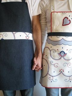 designer kitchen aprons | this stunning black full apron is in