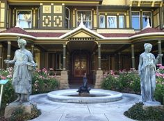 Entrance to the Winchester Mystery House