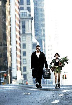 Jean Reno & Natalie Portman in Leon