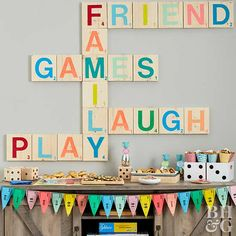 Host the Ultimate Family Game Night Host a Family Game Night<br> Our best game, snack, and decor ideas! Games For Ladies Night, Couples Game Night, Game Night Food, Game Night Parties, Game Party, Party Party, Work Party, Party Dress, Board Game Themes