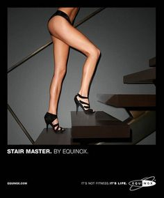 Equinox fitness clubs advertising. Photography by Terry Richardson