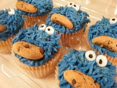 Num, num, num. Cookie Monster.