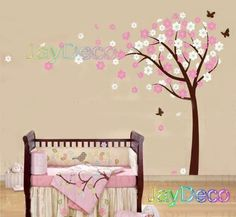 Vinyl Baby Tree Wall Decals Tree Removable Wall by Jaystore. $48.99, via Etsy.