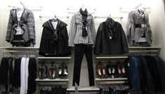 Cato Fashions - Fall 2014 Black and White Aztec Sweaters and Houndstooth Peacoat #catofashions #catoNevada1243