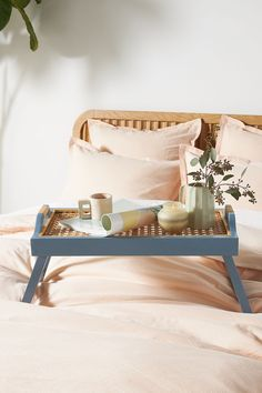 Natasha Breakfast Tray | Anthropologie Diy Interior, Interior Design, Breakfast Tray, Best Mothers Day Gifts, Room Wall Decor, Home Gifts, House Colors, Home Organization, Room Inspiration