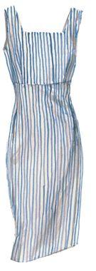 Florentine Seersucker Dress  jpeterman.com