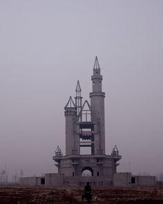 Abandoned Disney Castle China.