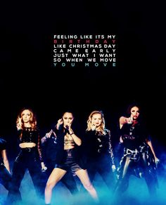 This is such a good edit. @Kris Gruber Edwards @Jes Yeager Nelson @Leigh Anne Pinnock @Jade Alvarez Thirlwall ♡