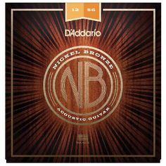 Daddario Nickel Bronze Guitar Strings Light Top The DAddario Nickel Bronze Strings are premium uncoated acoustic strings that provide a crisp and clear sound to accentuate the unique tone of your guitar. NB1256 delivers the ideal balance of volume  http://www.MightGet.com/march-2017-1/daddario-nickel-bronze-guitar-strings-light-top.asp