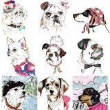 Dog Print Greetings Cards Pick N' Mix
