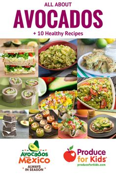 All About Avocados -