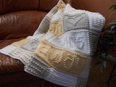 BREATH pattern for crocheted blanket by ColorandShapeDesign on Etsy https://www.etsy.com/uk/listing/181095544/breath-pattern-for-crocheted-blanket