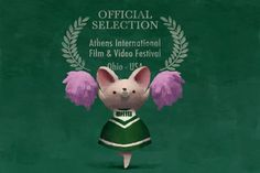 Ohio loves The Dam Keeper! Our short is an official selection of the 2014 Athens Film Festival taking place April 11th - 17th in Athens, Ohio. Cat, one of Pig's classmates, plays the role of an Ohio University bobcat in this illustration by director Dice Tsutsumi.  http://athensfilmfest.org/ www.thedamkeeper.com