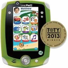 Leap frog Leap Pad 2..maybe this one.
