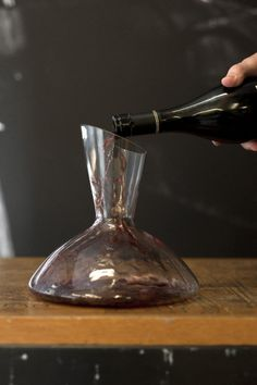 Red wine being poured at Vin Chicago. (1826 N Elston Ave. 773-489¿3454)