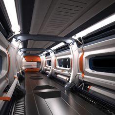 Image result for sci fi corridor
