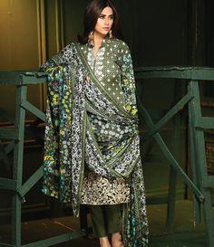 Rajbari Premium Fall Winter Linen Collection 2015 RB_04B
