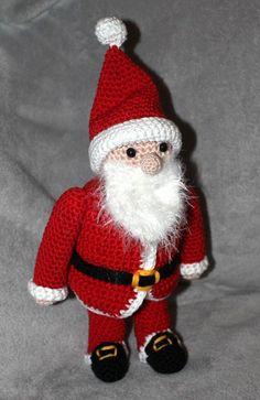 Xmas, Christmas Ornaments, Knitting, Holiday Decor, Petra, Super, Activity Toys, Amigurumi, Bonito