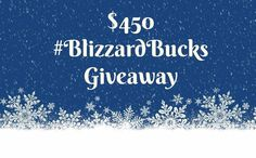 Cash Prize Blizzard Buck Giveaway (Open World Wide) Cash Prize, Giveaways, Holiday, Santa Baby, Extra Cash, Bustle, Rock, Blog, Forget