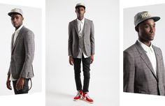 Alexander McQueen suit jacket.