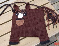 Crocheted Horse Bag