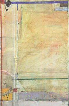 Untitled – Work on paper-Drawing – classifications – Richard Diebenkorn Foundation Richard Diebenkorn, Famous Abstract Artists, Bay Area Figurative Movement, Modern Art, Contemporary Art, Big Wall Art, Portraits, Paper Background, Mondrian