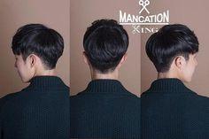 Hair Men Korean Hairstyles Shorts 48 Ideas - MY World Asian Korean Hairstyles, Korean Haircut Men, Korean Men Hairstyle, Asian Haircut, Korea Hair Style Men, Style Hair, Two Block Haircut, Kpop Hair, Boy Hairstyles