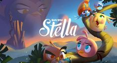O estúdio finlandês Rovio anunciou o lançamento de um novo jogo de nome Angry Birds Stella.