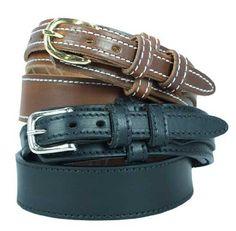 """Men's Ranger Belt 1 1/2"""" Ranger style oiled & waxed work belt. Black, Size 54 Yourtack. $33.95"""