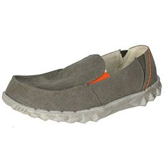 Hey Dude Farty Chalet Grey Canvas - http://on-line-kaufen.de/hey-dude/hey-dude-farty-chalet-grey-canvas