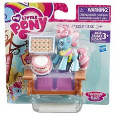 MLP Pinkie Pie Small Story Pack Mrs. Dazzle Cake Friendship is Magic Collection Figure