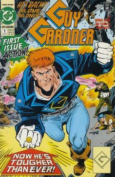 Guy Gardner - Guy Gardner #1 Comic Book Cover