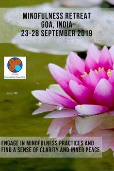 GEC's expertly facilitated holistic destination retreats in luxurious Goa offers you a chance to disconnect from the busy-ness of your everyday life. Mindfulness Retreat, Mindfulness Practice, Positive Mental Health, Mindfulness Techniques, Inner Peace, Goa, Coaching, Education, Life