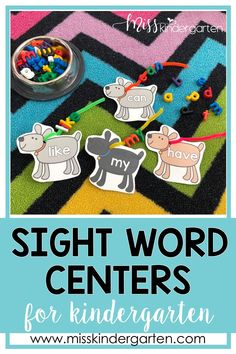 Use students will love these hands on pet theme centers! Play in the classroom is so important, so I love to incorporate it into our math and literacy centers. During your kindergarten rotations, your students can practice reading, writing sight words, CVC words, addition, subtraction, and other kindergarten skills.