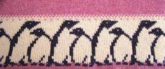 Billedresultat for knitting chart bird