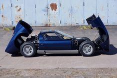 Completed:1968 - Originally delivered: France - Original colour: Argento - Original interior: nero  -  - We are proud to offer the Lamborghini Miura P 400 wh...