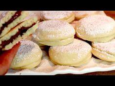 Άμεση στο τηγάνι! Ιδανικό για πρωινό, τσάι ή σνακ | # 350 - YouTube Brunch Recipes, Bread Recipes, Breakfast Recipes, Breakfast Tea, Italian Cookies, Italian Desserts, Nutella, Beignets, Special Recipes