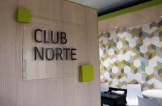 Working Bankia. Placa realizada en madera lacada y plancha de metacrilato Home Decor, Planks, Wood, Decoration Home, Room Decor, Interior Decorating